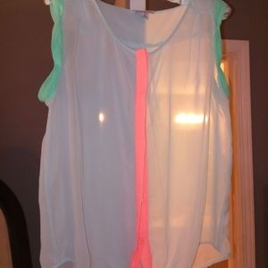 American Eagle Sheer Top